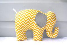 Elephant plushie pattern elephant softie by BlackTulipQuilts2