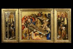 File:Triptych with the Story of Solomon by the Master of the
