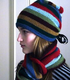 Ravelry: Cinchy Hat pattern by Cathy Carron