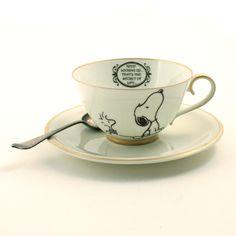 Oohhh Snoopy tea cup