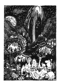 Tove Jansson - from The Magician´s Hat