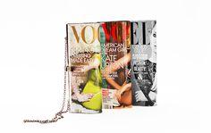 enrHedando: Como hacer un Bolso con Revistas de Moda