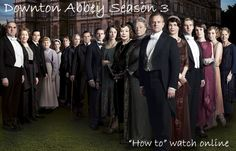 Little House in the Big D: Downton Abbey Season 3 - online links