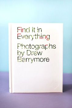 drew barrymore, book
