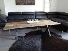 Slideshow image Raw Furniture, Table, Image, Home Decor, Rustic Furniture, Interior Design, Home Interior Design, Desk, Tabletop