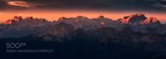 Pure Morning by mattiadattaro  alps clouds d750 dolomites dolomiti italia italy lagazuoi landscape light morning mountain mountains