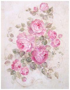 Rose Serenade - Debi Coules Romantic Art