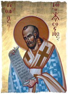 SAN JUAN CRISÓSTOMO,obispo,doctor y Padre de la iglesia de Oriente