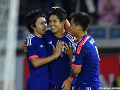 Yoshinori Muto - His 1st Goal in Japan National Team