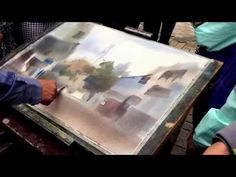 "Watercolor Tutorial ""Ostuni Panorama"" by Minh Dam - YouTube"