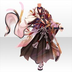 Character Inspiration, Character Design, Chibi Hair, Drawing Anime Clothes, Kimono Design, Anime Dress, Cocoppa Play, Dress Sketches, Fashion Design Drawings