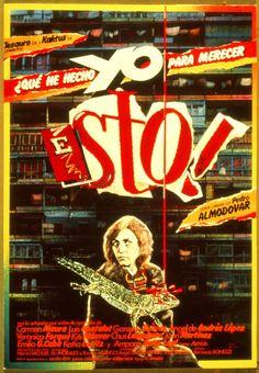 """El Acorazado Cinéfilo - Le Cuirassé Cinéphile: """"¿Qué he hecho yo para merecer esto?"""" (1984) Pedro..."""