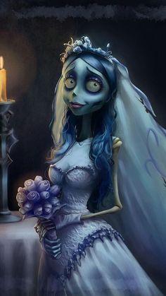 Emily❤ 》Corpse Bride... #TimBurton.