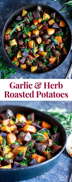 Garlic and Herb Roasted Potatoes