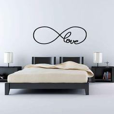 """Símbolo infinito + palabra """"love"""""""