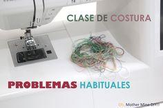 Solucionar los problemas con la máquina de coser