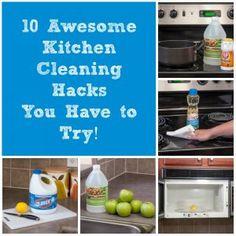 Ten of My Favorite Kitchen Cleaning Hacks