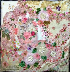 Crazy Quilting and Embroidery Blog by Pamela Kellogg of Kitty and Me Designs: Crazy Quilt Pillows