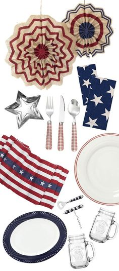 Fourth of July Dining Table Ideas