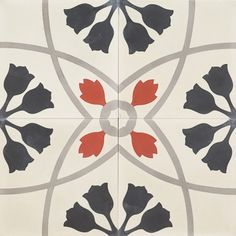 Tile: Black Tulip