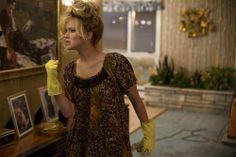 Rosalyn Rosenfeld (Jennifer Lawrence) in the Rosenfeld home in Columbia Pictures' AMERICAN HUSTLE. Photo by:  Francois Duhamel