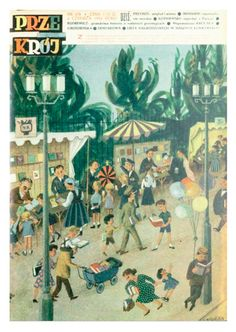 Cover of Przekrój magazine. Issue dated June 6, 1954.