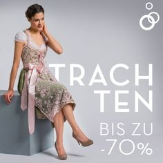 Register now for free and without obligation at limango and discover beautiful dirndl of many brands at greatly reduced prices! 💚 Get ready for Spring Festival and Co 🎡 - Bodycon Dress With Sleeves, Belted Shirt Dress, Tee Dress, Chiffon Dress, Glitter Dress, Colorblock Dress, Elegant Dresses, Boho Dress, Dresses Online