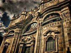 Catania, Sicilian, Barcelona Cathedral, Baroque, Italy, Photo And Video, Architecture, Photography, Travel