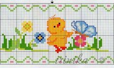 Cross Stitch Boarders, Baby Cross Stitch Patterns, Cross Stitch Bookmarks, Cross Stitch Cards, Cross Stitch Rose, Cross Stitch Baby, Baby Knitting Patterns, Cross Stitching, Cross Stitch Embroidery