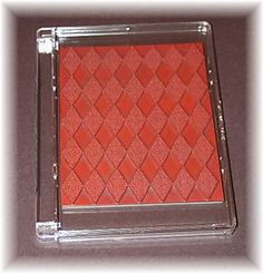 Rubber Stamp Storage Ideas   this is how the backgrounder stamps fit into the case i have ...