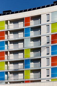 Arquitectura en San Sebastian - Donostia. © Inaki Caperochipi Photography Building, Saints, Balconies, Architecture, Basque Country, Buildings, Construction