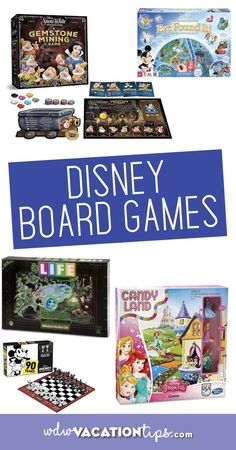 """Wondering what """"must have"""" Disney board games you need to add to your collection before your next game night? Well, look no further! I'm here to share with you some Disney games that will be fun for the whole family to enjoy! Disney World Tips And Tricks, Disney Tips, Walt Disney, Disney Land, Disney Games For Kids, Board Games For Kids, Disney Fanatic, Disney Addict, Disney Parque"""