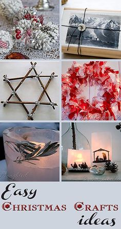 easy and fun Christmas craft ideas  from Songbirdblog.com