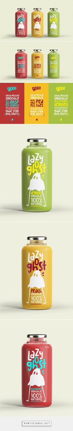 Lazy Ghost (Concept) - Packaging of the World - Creative Package Design Gallery - http://www.packagingoftheworld.com/2016/11/lazy-ghost-concept.html