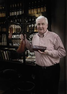 Jack McCarthy of Kanturk, is a legendary storyteller and a fifth-generation butcher, he is famed for his superior black pudding. The celebrated Boudin Noir uses fresh blood from free range pigs. Photo by Barry McCall Black Pudding, Fifth Generation, Artisan Food, Michelin Star, Chapter One, Irish Recipes, Free Range, Pigs, Storytelling