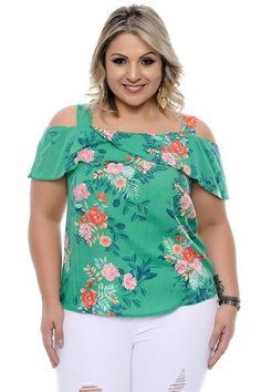 Blusa Plus Size Aline