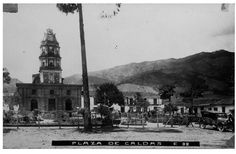 Parque de caldas 1924 - Publicada por Luis Maria Usma