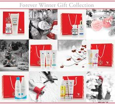 Forever Winter Gift Collection For beautiful gifts and products see www.facebook.com/AloeSoph or www.aloesoph.com