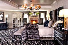 kris jenner bedroom kardashian decor interior designer