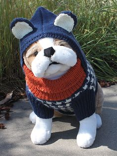 Hound Dog Hoodie...FREE PATTERN..LOG IN REQUIRED FOR THE FREE PATTERN