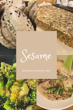 Sesame was the latest Flavor of the Month and has a good balance of things- a couple sweets, a side, and a soup! Sesame Recipes, Veggie Recipes, Black Sesame Paste, Sesame Chicken, Some Recipe, Amazing Recipes, Vegetable Dishes, Grocery Store, Dairy Free