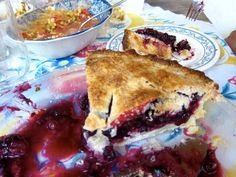 Eat blueberry pie. | 60  Things You Absolutely Have To Do This Summer