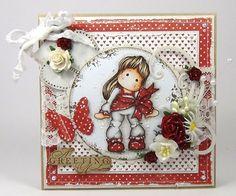 DeeDee´s Card Art: ♥ Baffie's Kreativladen DT - A Greeting of Love ♥