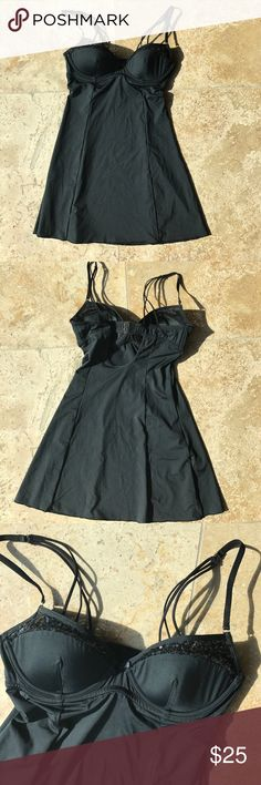 Beach Bunny Love Haus Black Sequin Nightie S So cute never worn! Beach Bunny Intimates & Sleepwear