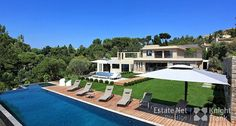 Modern Villa in Cannes with Pool and Sea Views