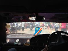 Local Cab in DRC on ride to Diamond Buying Region - Call +61 449 849 880 for serious investors