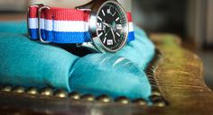 Ball Watch with tricolore nato strap Nato Strap, Watches, Wristwatches, Clocks