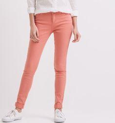 Jeans colorati push-up