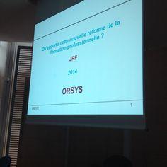 ds qqs minutes ça commence #confrh #orsys Suivez #orsys sur #Instagram : https://instagram.com/orsysformation/