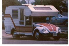 VW and trailer. Perfect.